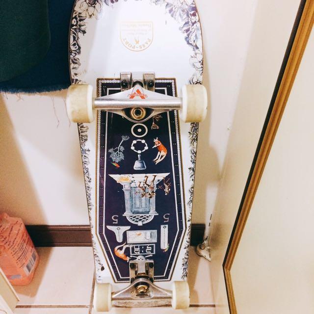 滑板 技術板