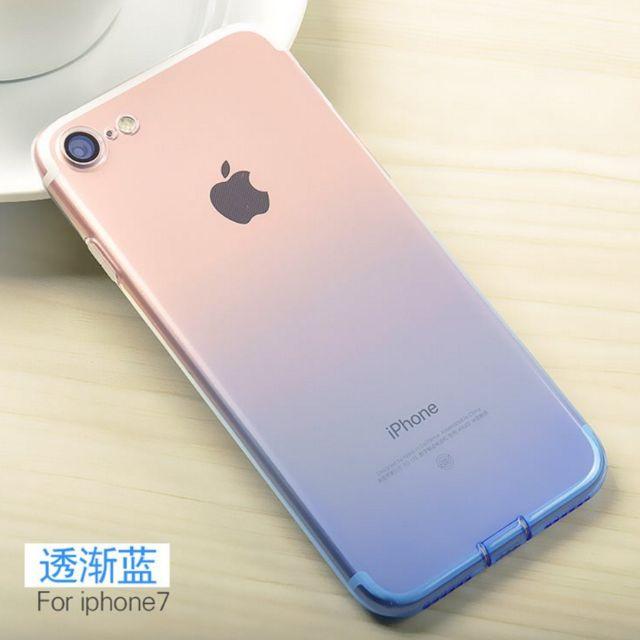 蘋果 i6/i6+/6s/6s+/i7/i7+ 漸變色系手機軟殼 #運費我來出