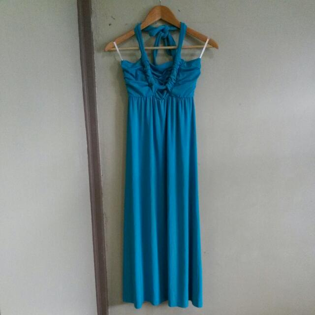 A1 Blue Green Dress