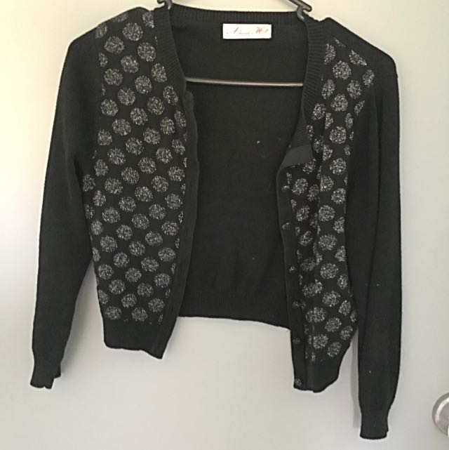 Alannah Hill Spotted Cardigan