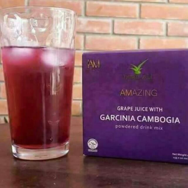 AMAZING Garcinia Cambogia Extract Grape Juice