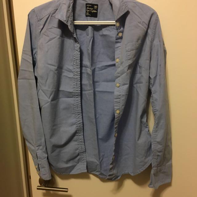 American Eagle Jean Shirt