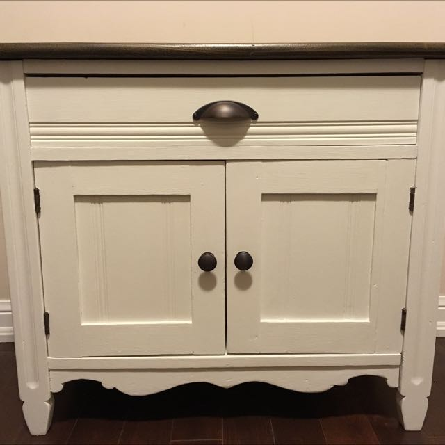 Antique Side Table/End Table/Bedside Table