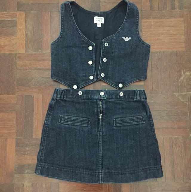Armani Exchange Jeans set