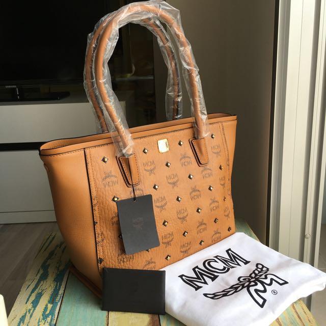 Authentic MCM Tote Bag