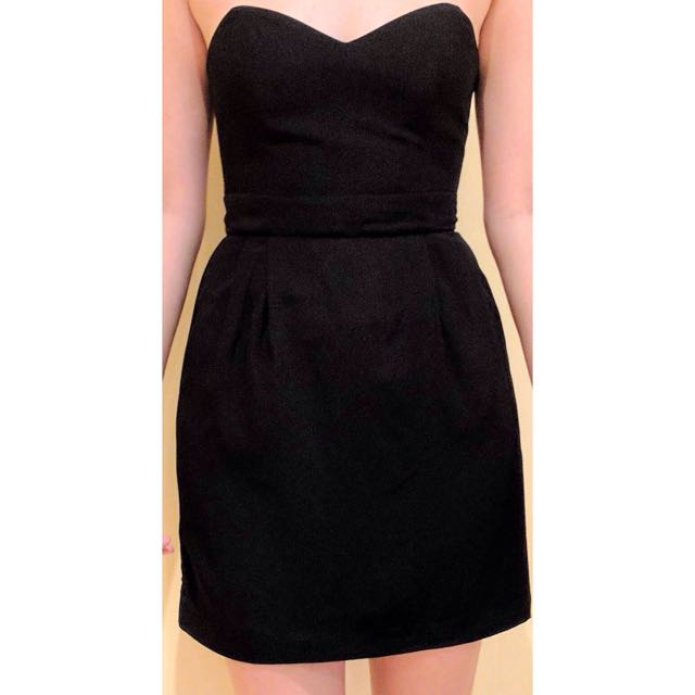Bettina Liano Strapless Dress