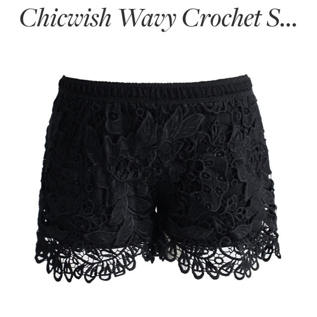 Black Detailed Shorts