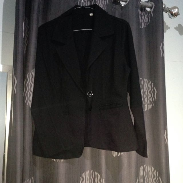 Blazer Hitam Uk. M