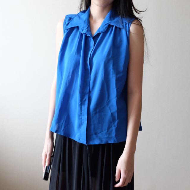 Blue Flare Shirt