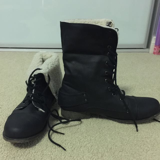 Multiple Boots Size 9