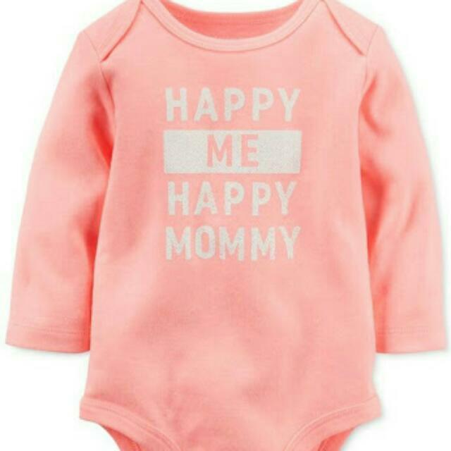 Carter's Baby Girl Clothes Onesie NB
