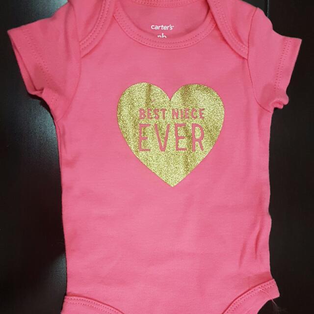 Carter's Best Niece Ever Baby Girl Clothes Onesie