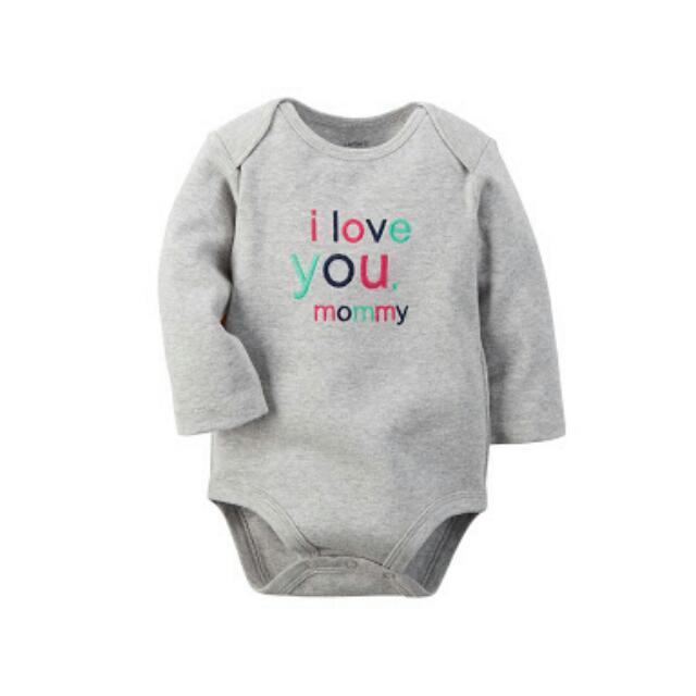 Carter's Infant Baby Girl Boy Onesie NB