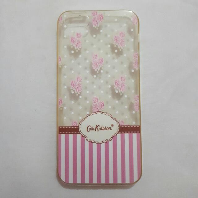 Cath Kidston Clear Softcase For Iphone 5/s
