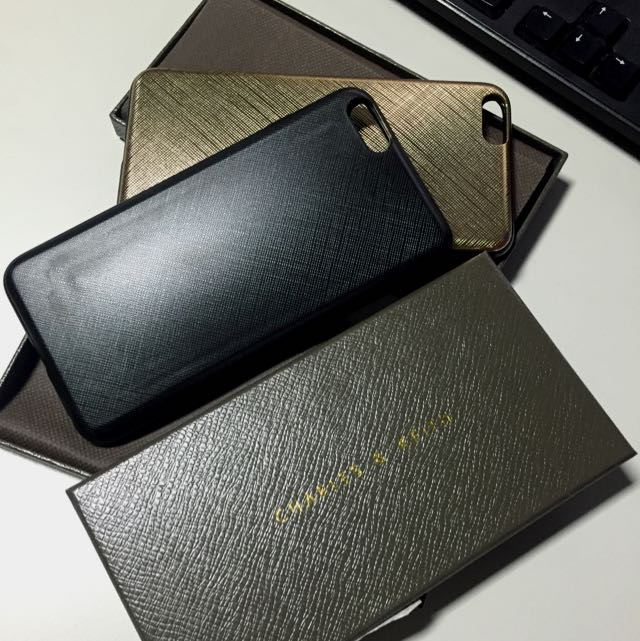 Charles & Keith iPhone 6+ w/ Sliding Card Slot