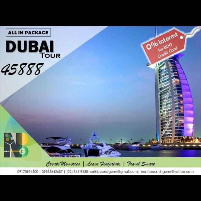 Dubai All In Tour Package