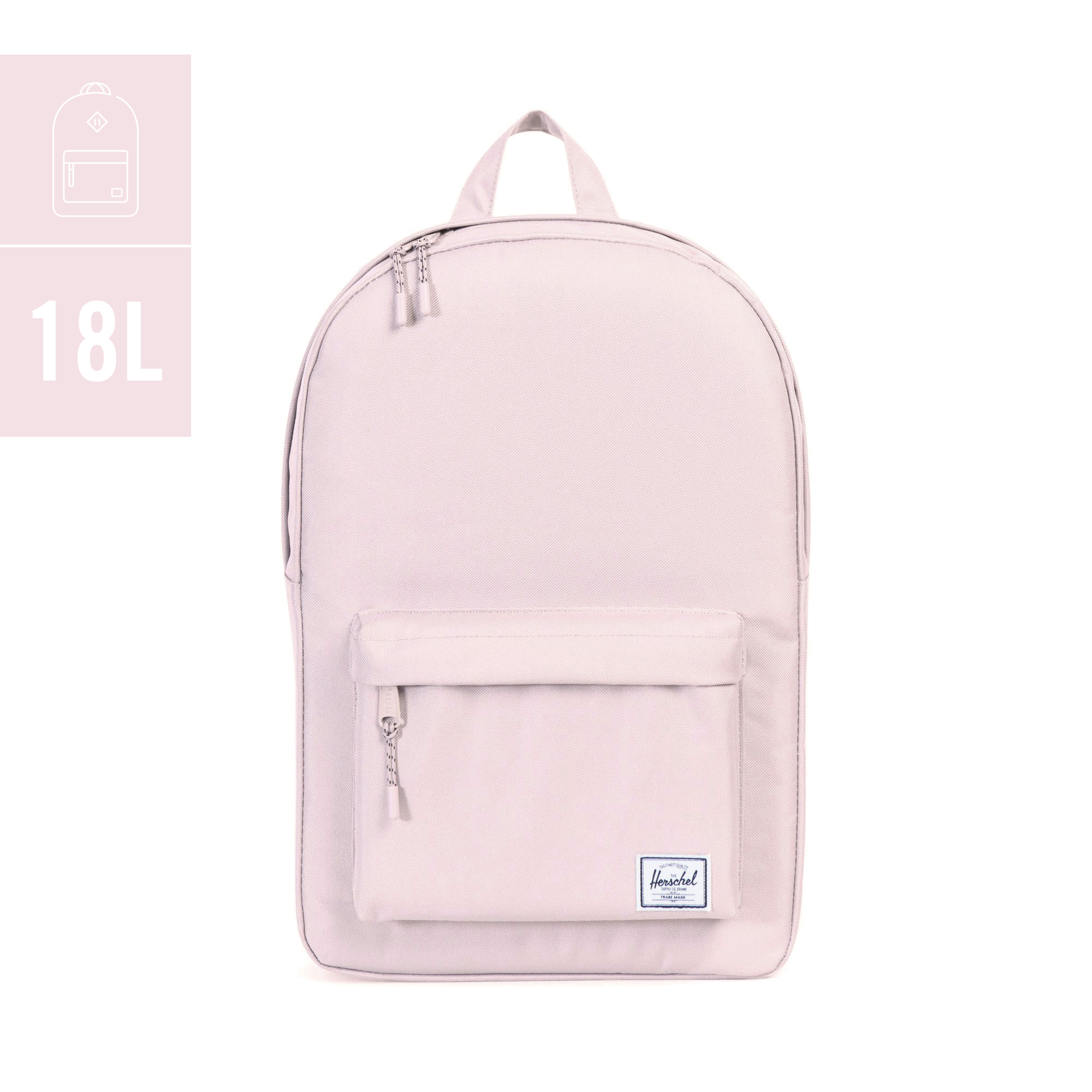 a535c75318 EXCLUSIVE Herschel Classic Mid-Volume Backpack (Blush Pink   Rose ...