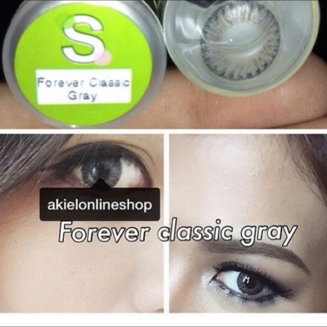 Forever Classic Gray (Sparkle Contact Lens)