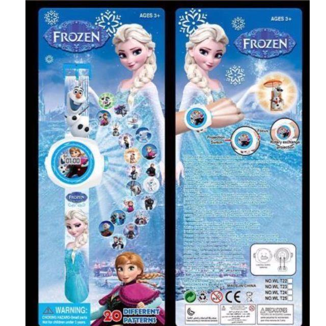 Frozen Digital Projector Watch