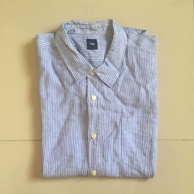 GAP Blue Line Shirt