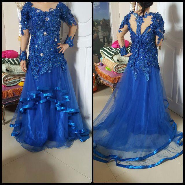 Gaun Pesta Mewah Women S Fashion Women S Clothes Dresses Skirts