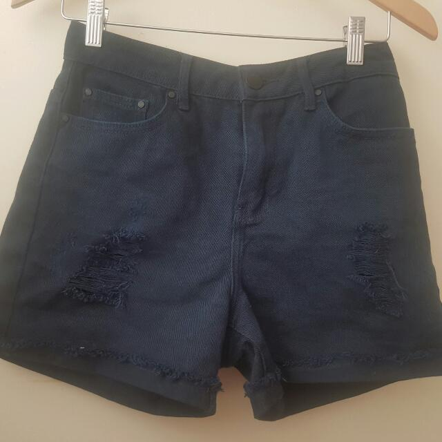 Glassons High Waisted Shorts Size 8