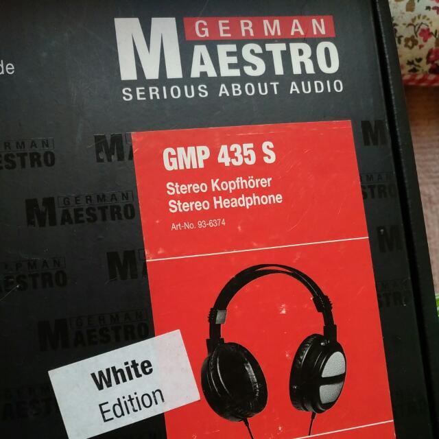 GMP 435s耳罩式耳機