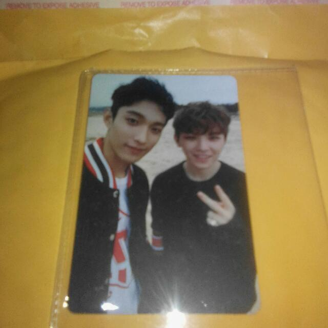 GOING SEVENTEEN DK AND WOOZI PC