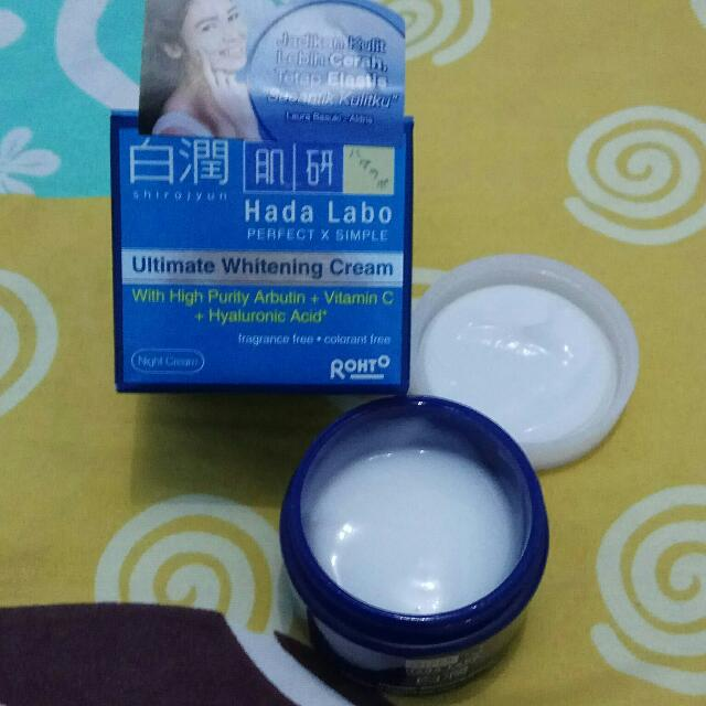 Hada Labo Ultimate Whitening Cream
