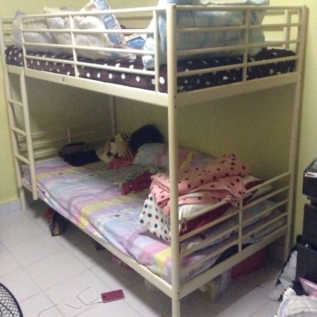 Ikea Bunk Bed Furniture Home Living Furniture Bed Frames Mattresses On Carousell