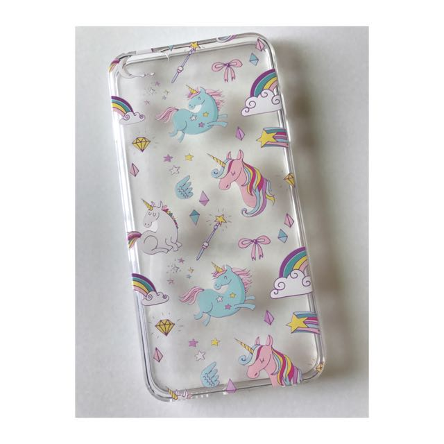 Unicorn Clear Case Good Quality