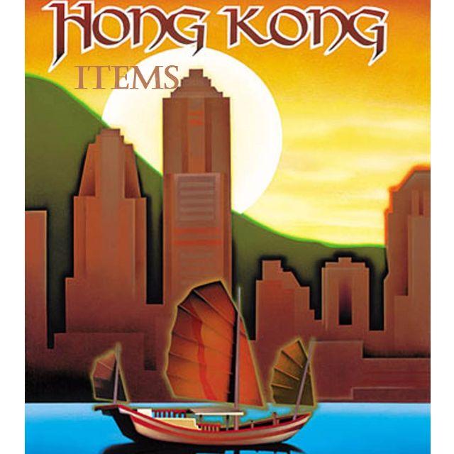 Items form HK available tomorrow :)