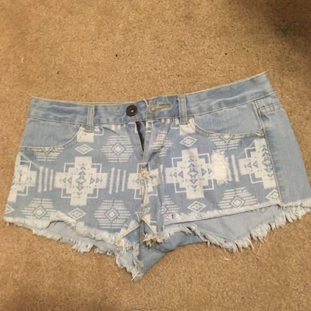 Jean Shorts/skirts