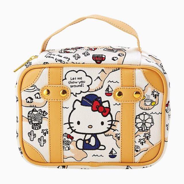 Kitty手提化妝收納包
