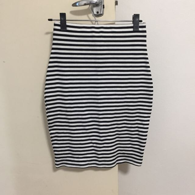 Luck & Trouble Striped Skirt