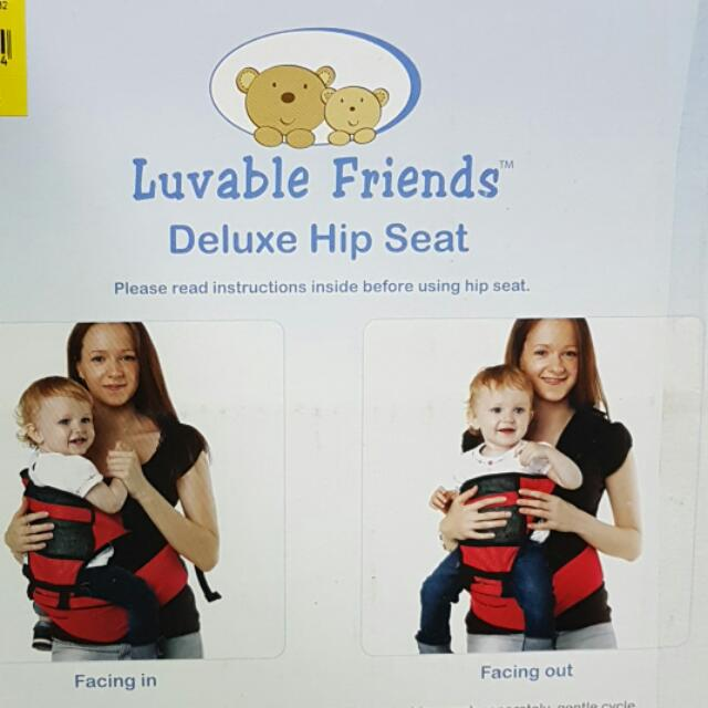 Luvable Friends Deluxe Hip Seat Baby Carrier