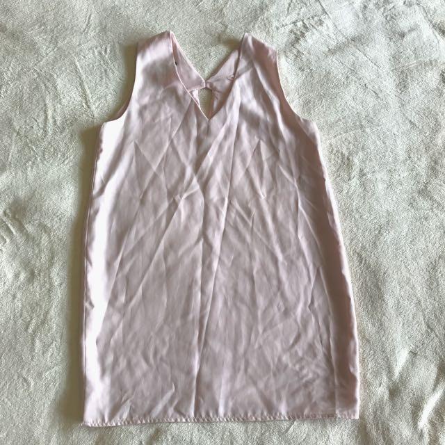 Mango V Neckline Shirt Dress