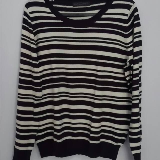 Marks & Spencer Striped Sweatshirt