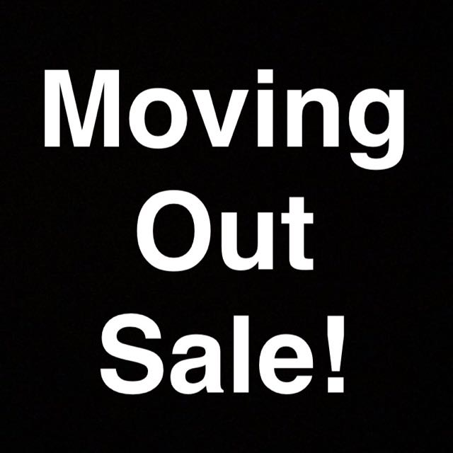 Moving out Sale! Make An Offer!