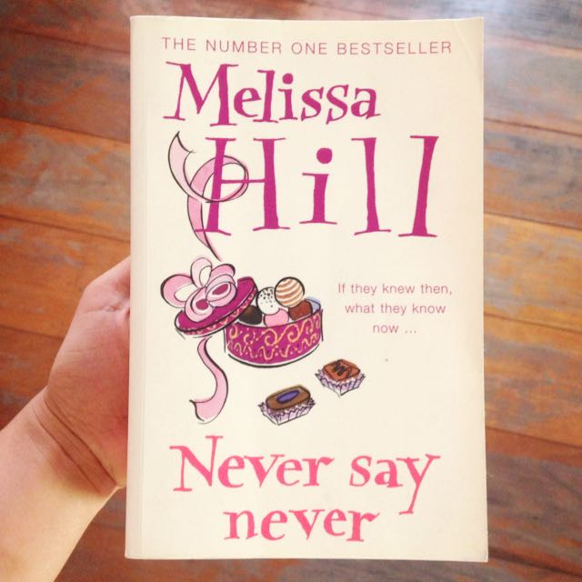 Never Say Never By Melissa Hill
