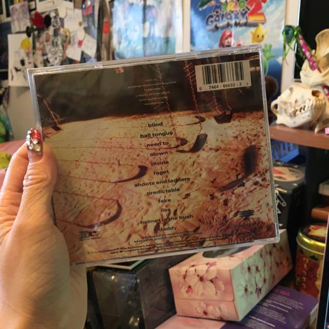 NEW AND SEALED KORN CD KORN ALBUM
