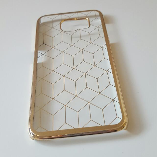 NEW Samsung S6 Hard Casing (Gold)