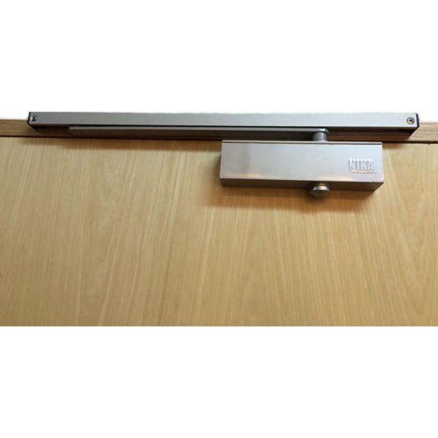 Nika Japan Slide Arm Door Closer Silver Black