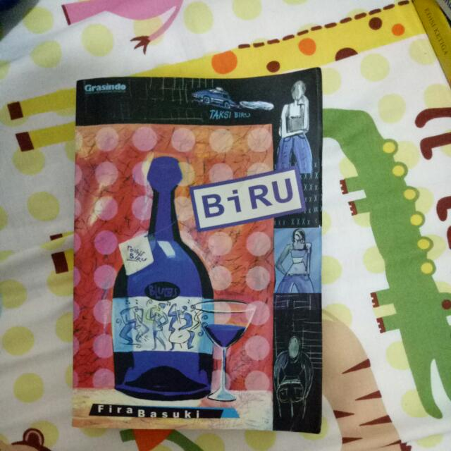 Novel Biru by Fira Basuki