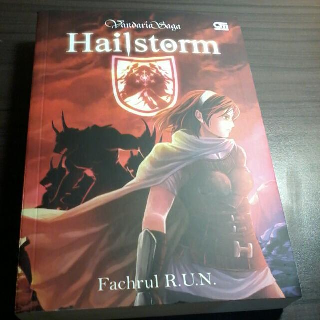 Novel Vandaria Saga Hailstorm Karya Fachrul R.U.N