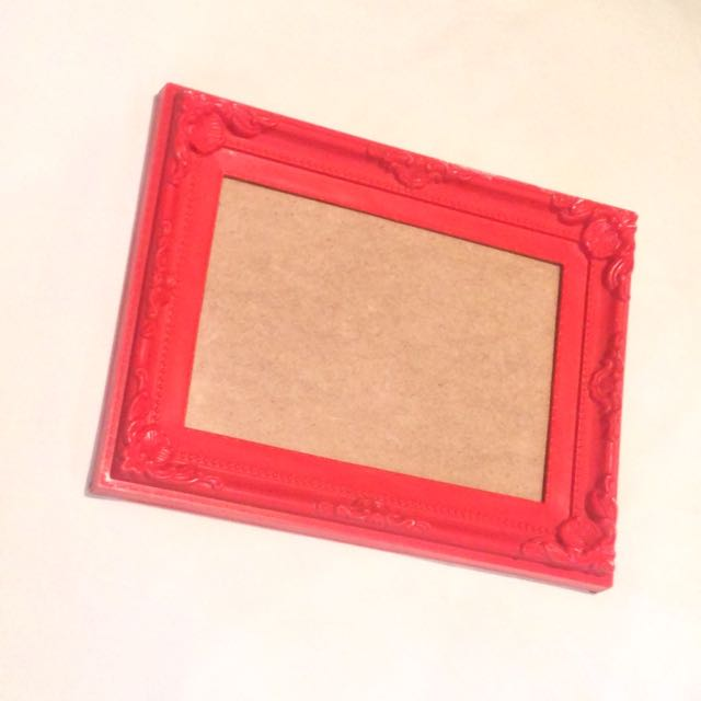 Novelty Baroque Photo Frame #decluttermarch