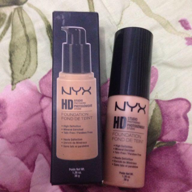 NYX HD FOUNDATION
