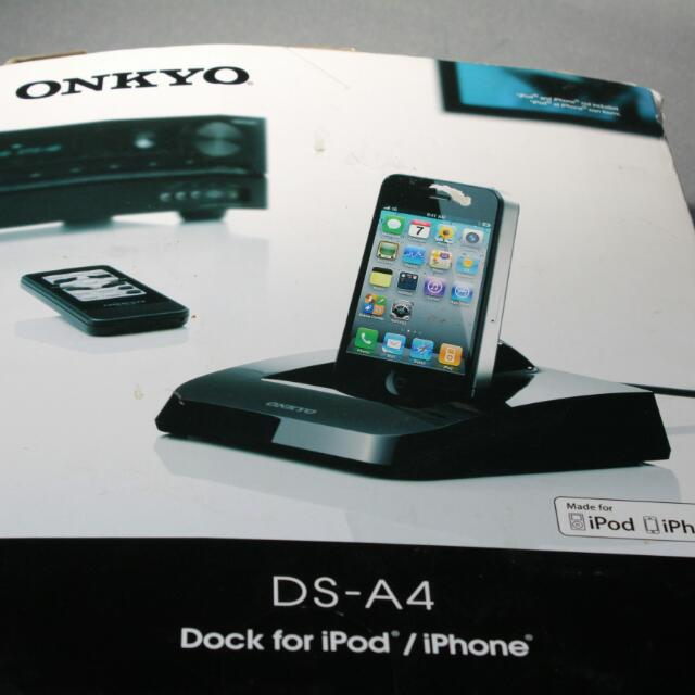 Onkyo Ds-A4 Remote Interactive Dock For Ipod And Iphone 30-Pin U 106