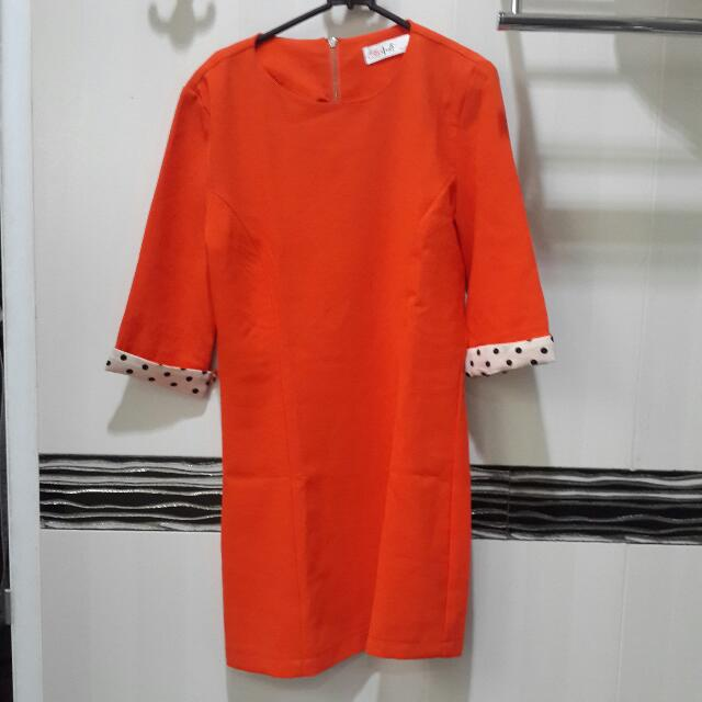 Orenji Mini Dress