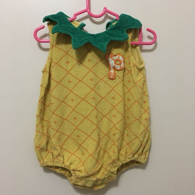 fe17443b3cc6 Pineapples Romper With Hat